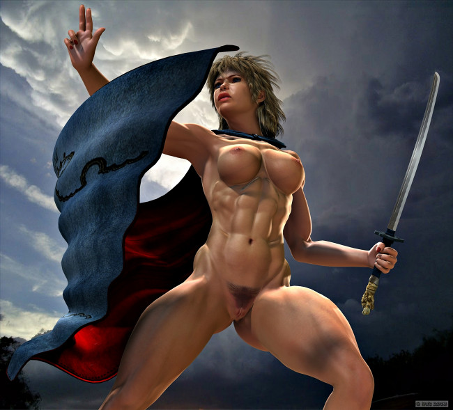 Warrior Women Cartoons and Comics - funny pictures from.